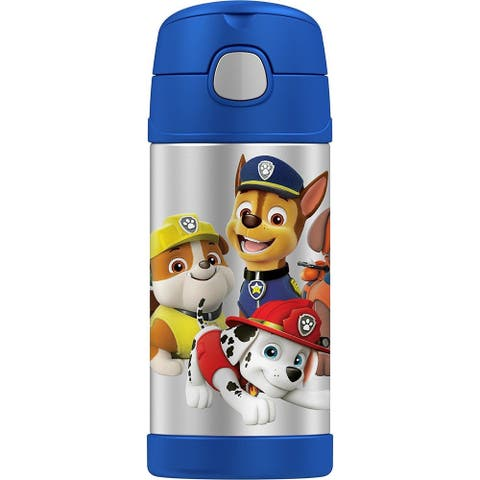 Thermos Funtainer Vacuum Insulated Stainless Steel Bottle (12 oz/ Paw Patrol)