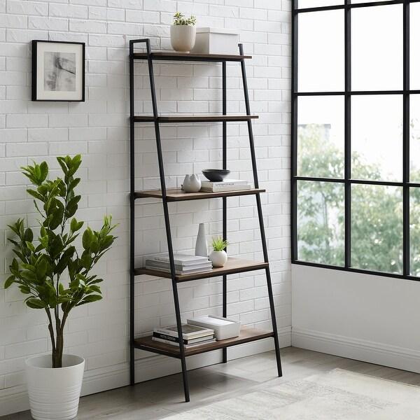 Carbon Loft Lahuri 72-inch Open Ladder Bookshelf. Opens flyout.