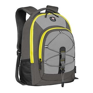 "SwissGear Mars 16"" Steel Grey Padded Laptop Backpack Case"