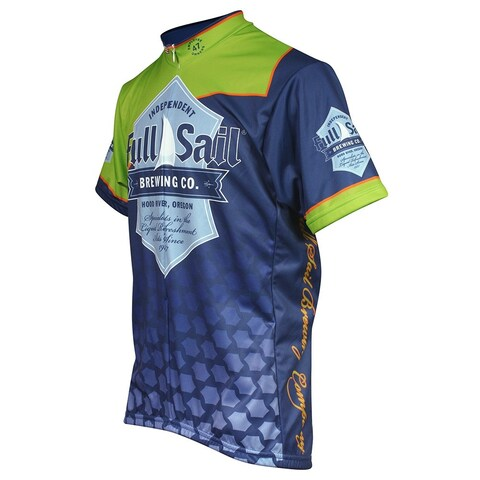 Pace full sail jersey sm navy/grn