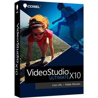 """Corel VideoStudio Ultimate X10 - 1 User Software Suite"""