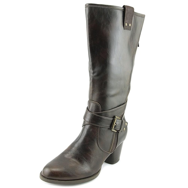 Rialto Caparella Women Round Toe Synthetic Mid Calf Boot