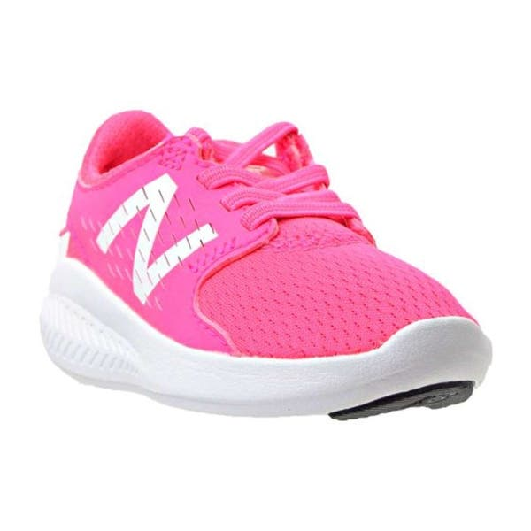 09240f2ec1f6c Kids New Balance Girls FuelCore Coast v3 Low Top Lace Up Walking Shoes
