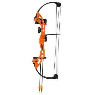 Bear archery ba-ays300tr brave in flo orange w/ biscuit, rh