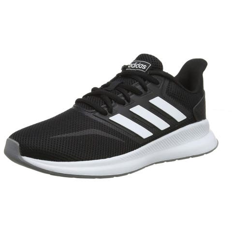 Adidas Womens Runfalcon Running Shoe, Adult, Black/White/Grey
