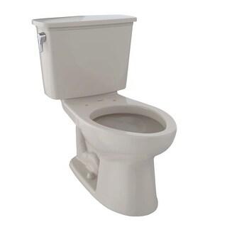 Toto CST744EN Eco Drake 1.28 GPF Two Piece Elongated Toilet - Less Seat