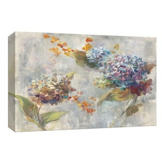 """PTM Images 9-153896  PTM Canvas Collection 8"""" x 10"""" - """"Autumn Hydrangea II"""" Giclee Flowers Art Print on Canvas"""