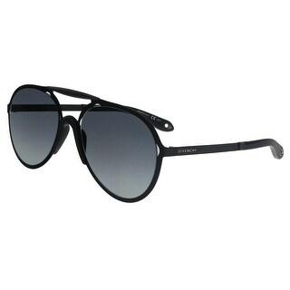 Givenchy GV7039/S PDE HD Black Matte Aviator Sunglasses - No Size