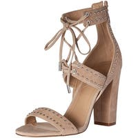 KENDALL + KYLIE Womens dawn Leather Open Toe Casual Strappy Sandals