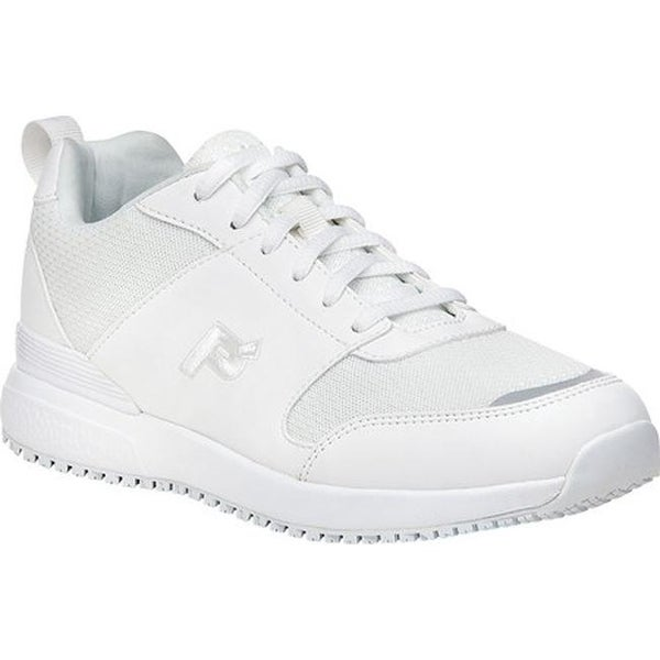 Selma Walking Shoe White Leather