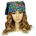 Handmade Grateful Dead Terrapin Dance 100% Cotton Bandana Scarf Headscarf 23x23 - Thumbnail 0