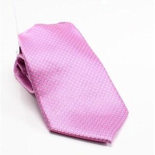 Michael Kors NEW Pink Men's One Size Emergent Print Silk Neck Tie