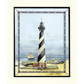 ''Cape Hatteras Light'' by Wendy Wegner Coastal Art Print (24 x 20 in.)