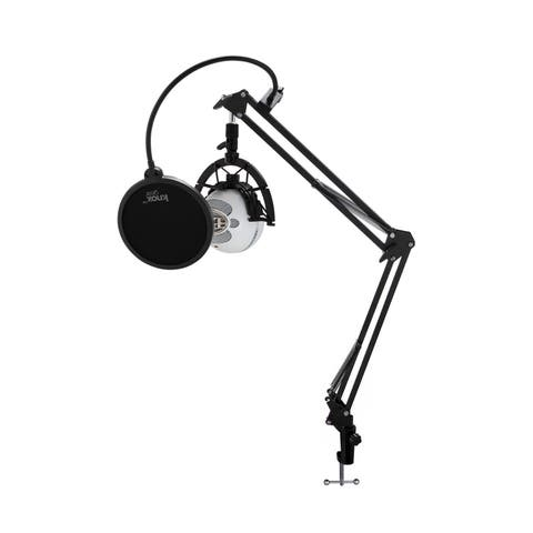 Blue Microphones Snowball iCE Mic with Boom Arm & Shock Mount Bundle