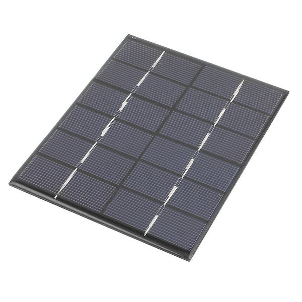 6V 2W DIY Polycrystallinesilicon Solar Panel Power Cell Battery Charge 136x110mm