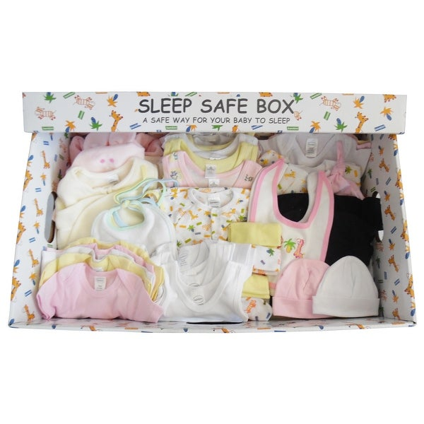 Girl 72 Piece Baby Starter Set Box - Size - Mixed Sizes - Girl
