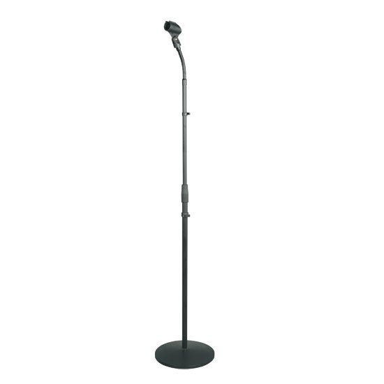 Universal Microphone Stand - Mic Mount Holder with Adjustable Gooseneck