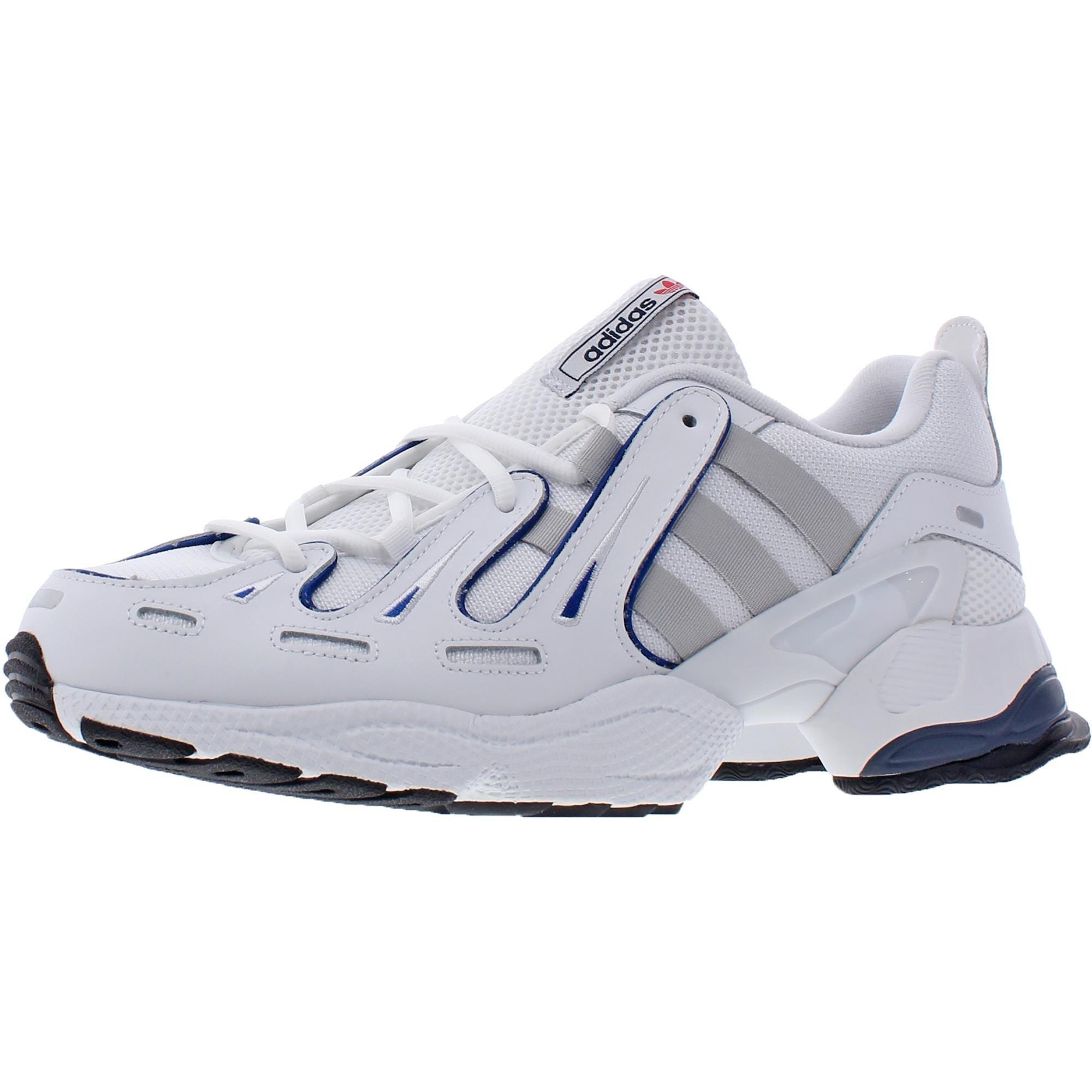 adidas Originals Mens EQT Gazelle Walking Shoes Mesh Trail - Footwear White/Grey Two/Collegiate Royal