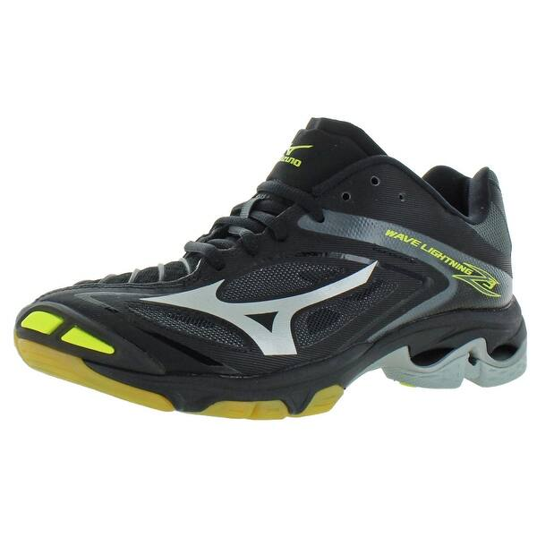 Grey Mizuno Wave Lightning Z4 Volleyball Shoes Womens 6.5 B US