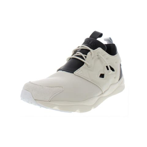 Reebok Mens Furylite AFF Fashion Sneakers Leather Padded Insole