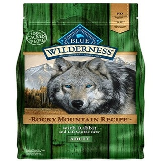 Link to Blue Dog Wilderness Rocky  Mountain Red Rabbit  22 Lbs. - 22 lbs Similar Items in Dog Food & Treats