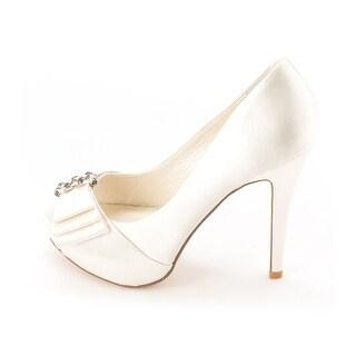 Menbur Women's 005160 Peep-Toe Heels
