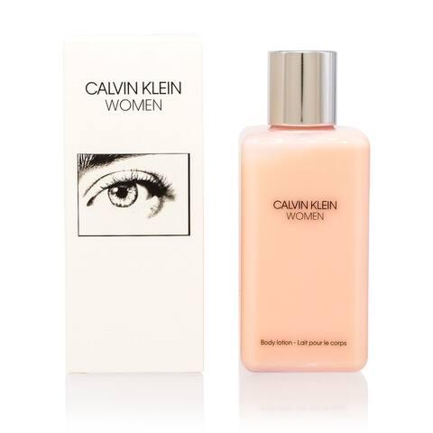 Ck Women by Calvin Klein Body Lotion 6.7 Oz