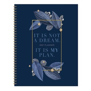 Link to 2021 My Plan Large Weekly Monthly Planner - 8.5x11 Similar Items in Calendars & Journals