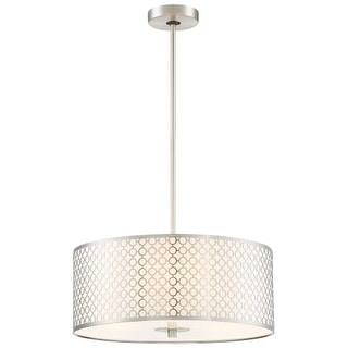 Kovacs P1266-084 3 Light Full Sized Pendant from the Dots Collection