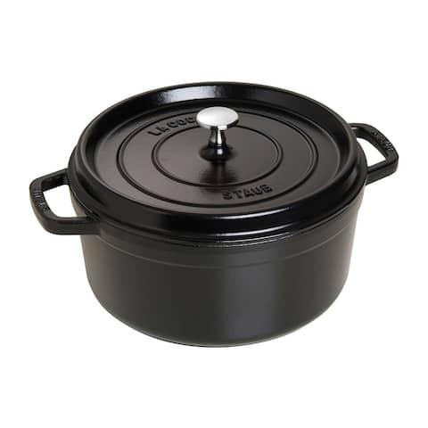 Staub Cast Iron 5.5-qt Round Cocotte