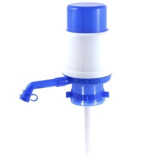 Office Cylinder Shape Hand Press Drinking Water Pump 19cm Height