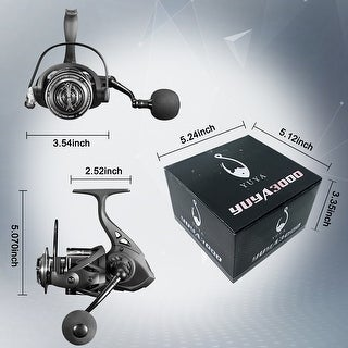 Spinning Fishing Reel 5000 for Freshwater or Saltwater