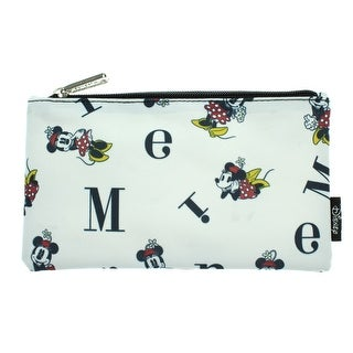 Disney Minnie Mouse Pencil Case Pouch Holder Letters Print - One Size Fits most