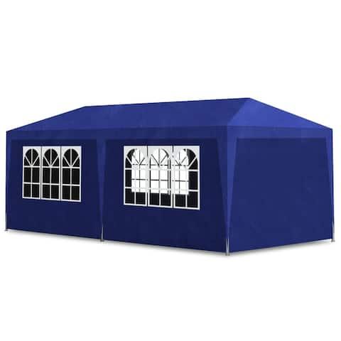 vidaXL Party Tent 10'x20' Blue