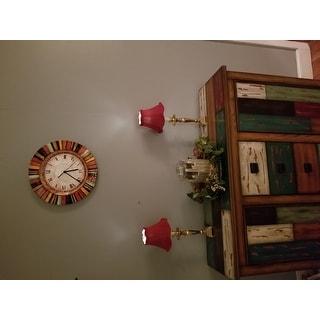 Handmade Multicolor Clock (Philippines)
