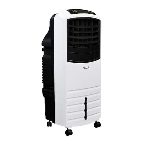 NewAir 2-in-1 Evaporative Cooler and Fan, 300 sq. ft. with Large 21 qt. Water Tank and Easy Glide Casters