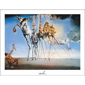 ''The Temptation of St. Anthony'' by Salvador Dali Museum Art Print (11 x 14 in.)