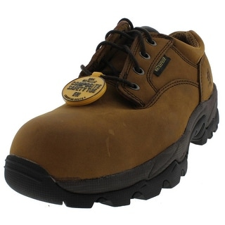 Chippewa Mens Work Shoes Leather Composite Toe