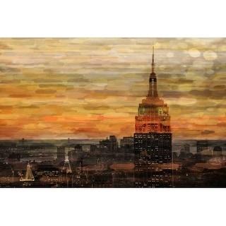Parvez Taj Bronze Night Print on Canvas Art Print on Premium Canvas