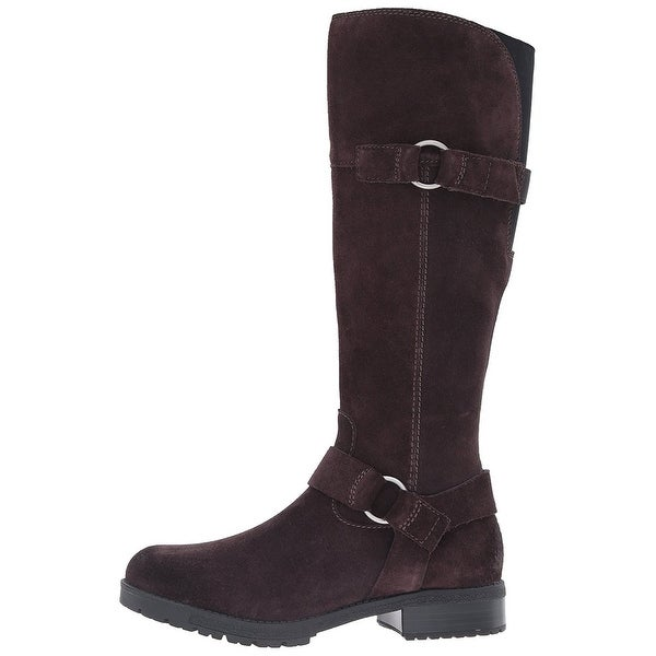CLARKS Womens Faralyn Dawn Closed Toe Knee High Riding Boots