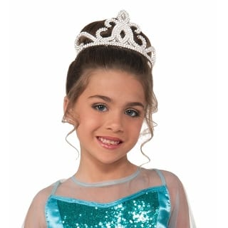 Silver Costume Tiara Child One Size|https://ak1.ostkcdn.com/images/products/is/images/direct/37dfdfe420a3a0220103f6db2d7db6633505d0d3/Silver-Costume-Tiara-Child-One-Size.jpg?impolicy=medium