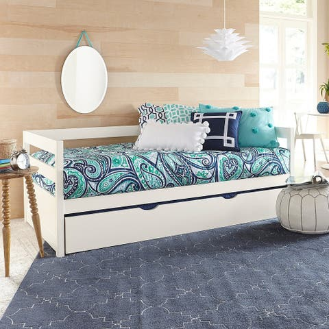 Hillsdale Caspian White Daybed with trundle