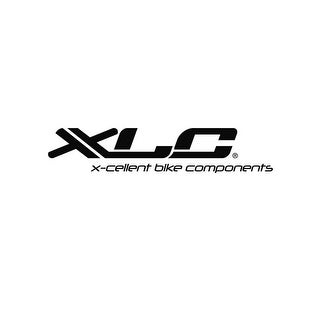 XLC Wide Mouth Bicycle Seat Bag - Black/red