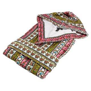 Versace VD A8572 003 Multicolor Hooded Sleeveles Bathrobe