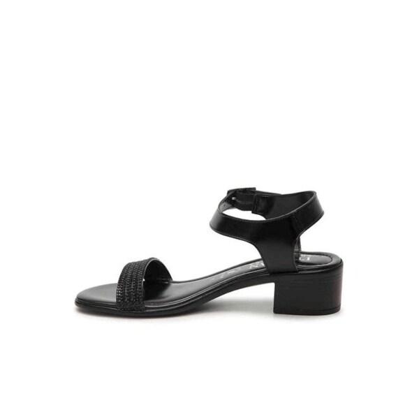 63fc6330f ITALIAN Shoemakers Womens rhinestones 5493s8 Open Toe Casual Slingback  Sandals - 8