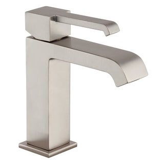 Jacuzzi MZ778 Malcolm 1.2 GPM Single Hole Bathroom Faucet with Optional Deck Pla