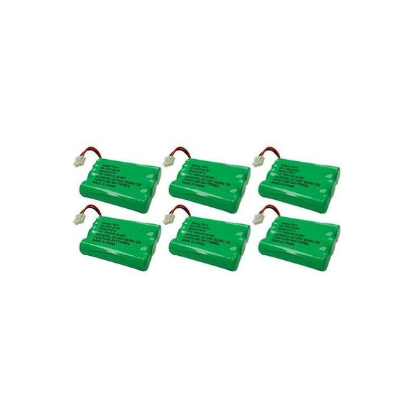 Battery for GE/RCA 27910 (6-Pack) Replacement Battery