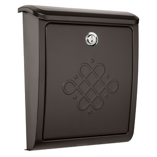 Shop Whitehall Wall Mounted Locking Mailbox French Bronze