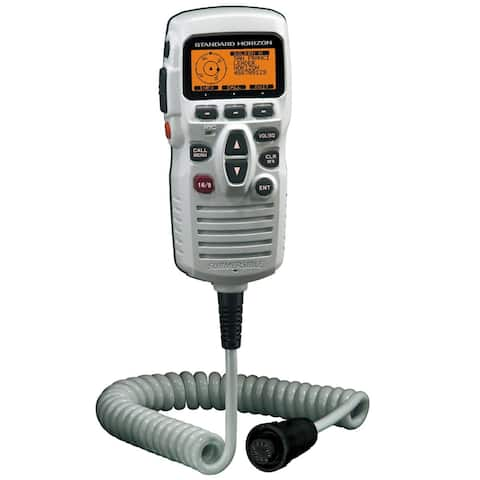 Standard Horizon Ram3+ Remote Station Microphone; White - CMP31W
