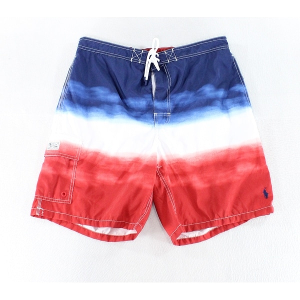 8d3980de00 Shop Polo Ralph Lauren NEW Blue Mens Size Medium M Board Surf Swim Trunks -  Free Shipping On Orders Over $45 - Overstock - 21108679